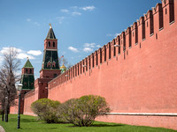 Kremlin Wall and Tower Moscow