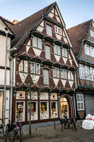 Traditional Timber Framed Building in Celle Germany